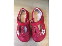 Clarks flower shoes