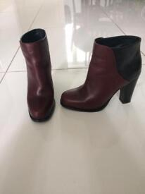 & Other Stories heeled boots size 4