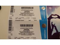 X2 Eminem Tickets Bellahouston Park Glasgow