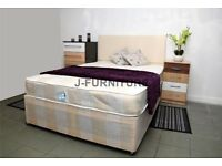 ❤️HEADBOARD & DRAWERS ARE OPTIONAL❤️BRAND NEW KING SIZE/DOUBLE/SINGLE SEMI ORTHOPAEDIC MATTRESS❤️