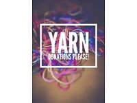 Wanted any wool or yarn for a Yarn Bomb Project in Inverness