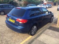 Audi A3 2007 5 Door 2.0 Tdi Hatchback with Service History
