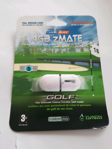 4 GB pen drive with golf game