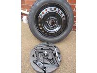Vauxhall insignia spare wheel