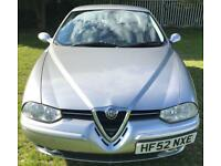 Alfa Romeo 156 Long Mot 06/2018 6 services low milage