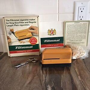 Filtromat, confectionneuse manuelle cig.