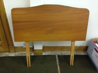 single bed size headboard Wood Good condition
