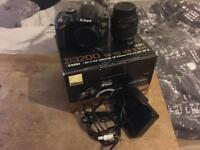 Nikon d3200 dlsr and 18-55mm af-s nikkor lense £120