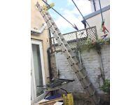 Ladders Alumunium 2x4m(13ft)