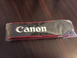 New canon neck strap