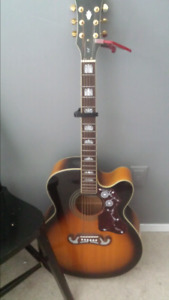 Reduced** Epiphone Ej 200 acoustic /electric cutaway