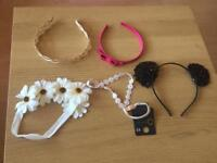 Mixed lot of hairbands