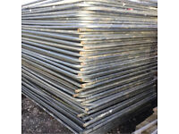 HERAS TEMPORARY SECURITY FENCE PANELS > USED