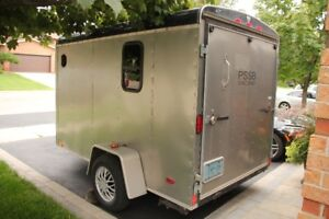 MOTORCYCLE TRAILER  6 X 12 V NOSE, with WINDOW 2005