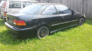 1996 Honda Civic Si Coupe (2 door)