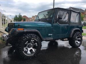 1995 Jeep Wrangler Convertible