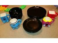 Plates, bowls and mugs
