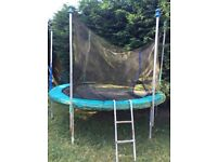 FREE 8ft Trampoline - NO DELIVERY AVAILABLE, YOU DISMANTLE AND TAKE AWAY