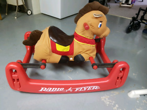 Radio flyer soft bouncy horse
