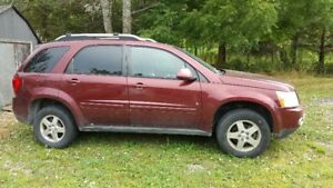 2007 Pontiac Torrent SUV, Crossover with sunroof