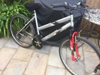 """Ladies 18"""" student bike bicycle inc road tyres, front suspension & delivery"""