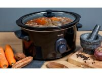 Breville 4.5L Slow Cooker, Black. Glass Lid. Great Condition.