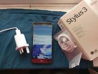 LG Stylus 3 Smartphone, 16GB Unlock