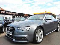 2012 AUDI A5 2.0 TDI 177 S Line + HEATED LEATHER + XENONS + FINANCE AVAILABLE