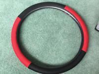 Car sterring wheel cover