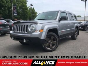 2016 Jeep Patriot 75TH ANNIVERSARY 84$/SEM 4X4 CUIR,TOIT,BLUETOO