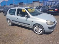 RENAULT CLIO AUTOMATIC LOW MILES 54K, ( ANY OLD CAR PX WELCOME ) EXCELLENT DRIVE