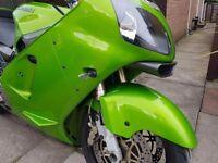 Kawasaki ZX12R A1 2001 Full power Akrapovic exhaust