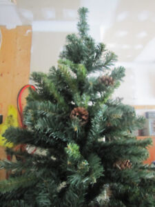 CHRISTMAS TREE About 5 1/2 feet tall   $25.00
