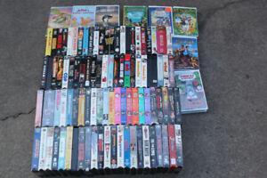 100 VHS Movies $10 for all