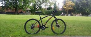 Aluminum Front Suspension Mountain Bike(medium heights)