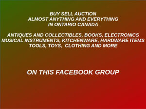 Buy, Sell, Auction Almost anything & Everything in Ontario