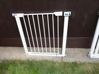 no 6 ) baby start stair gate with fittings