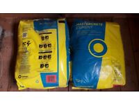 2 New bags of 25kg cement