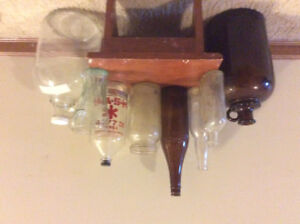 Antique glass jugs, bottle and more!