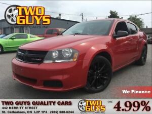 2013 Dodge Avenger LOCAL TRADE| BLACKTOP PKG| ALPINE