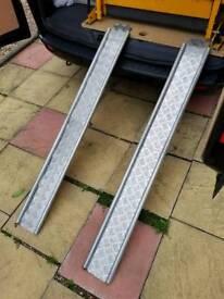 Pair of lightweight heavy duty Aluminium Ramps