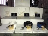 Versace Belts - With Box & Bag