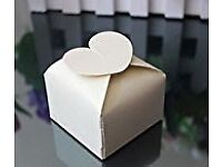 Pack of 90 wedding favour boxes