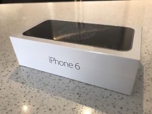 Brand new  black iphone 6 neuf noir 32GB