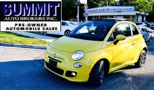 2012 Fiat 500 SPORT | LEATHER | BLUETOOTH