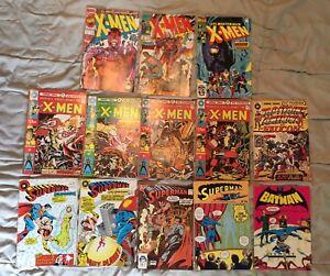 BD Comics 70's - Superman/X-Men/Batman/Capitaine America