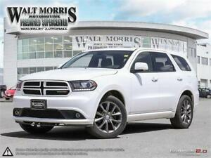 2017 DODGE DURANGO G/T: NO ACCIDENTS, ONE OWNER