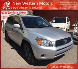 2008 Toyota RAV4 AWD!! ONE OWNER!!! LOW LOW KM! ACCIDENT FREE!!!