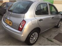 Nissan Micra 1.2 Silver 2007 with 12 Months Mot £750