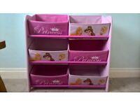 PRINCESS STORAGE BOXES